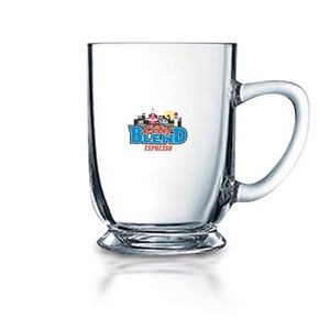 16 Oz. Bolero Clear Glass Mug