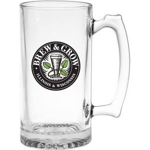 25 Oz. Thumbprint Tankard Glass